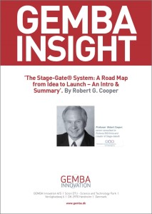 The Stage-Gate System - A Roadmap From Idea-to-Launch - An Intro & Summary GEMBA Frontpage