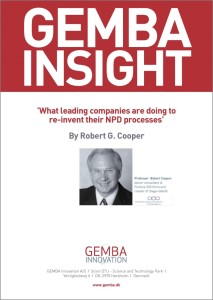 What Leading Companies Are Doing to Re-invent Their NPD Processes GEMBA Frontpage