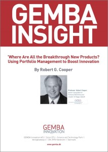 Where are all the breakthru new products - published in Research-Technology Management Sept-Oct 2013 pp 25-32 - GEMBA Frontpage